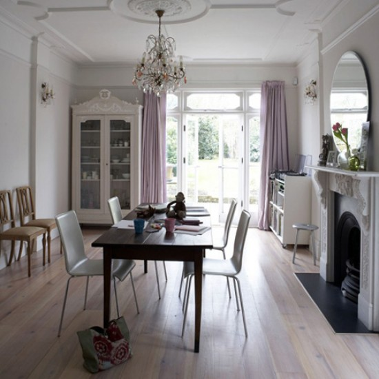 Elegant eclectic dining room | Dining room designs | Image