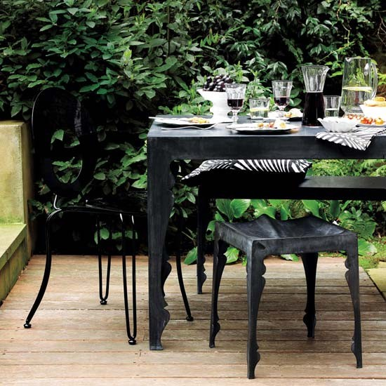 Modern outdoor dining | Garden dining desings | Garden | Image | housetohome.co.uk