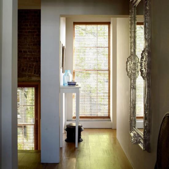 Narrow modern hallway | Hallway designs | Console table | Image | Housetohome.co.uk