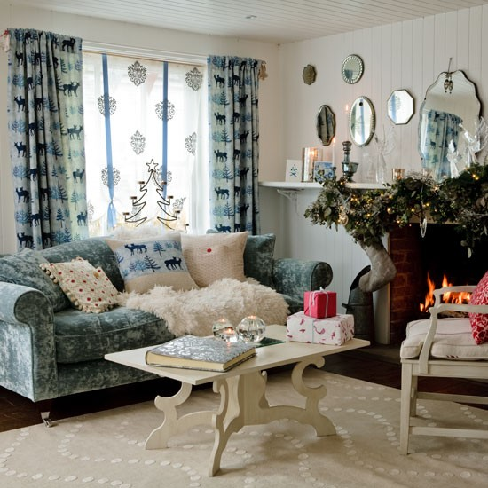 Make The Most Of Textures Country Christmas Decorating