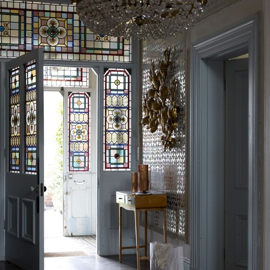 Modern hallway with original features | Hallway ideas | Hallway | image | housetohome.co.uk