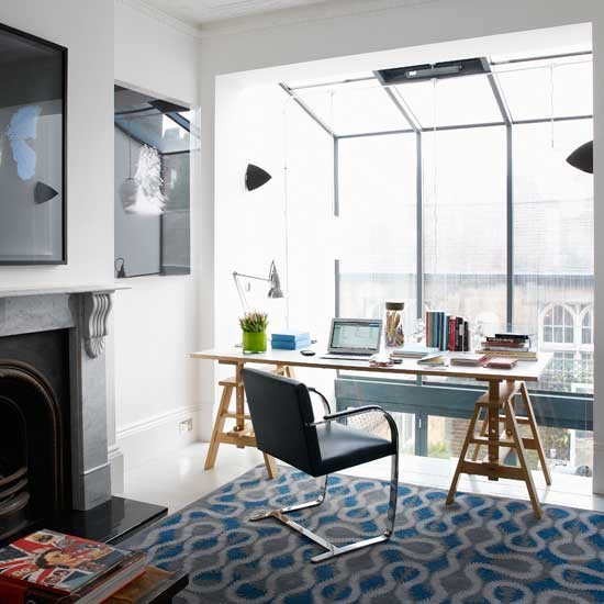 design Light modern home office | Home office| Desks | Image | Housetohome.co.uk