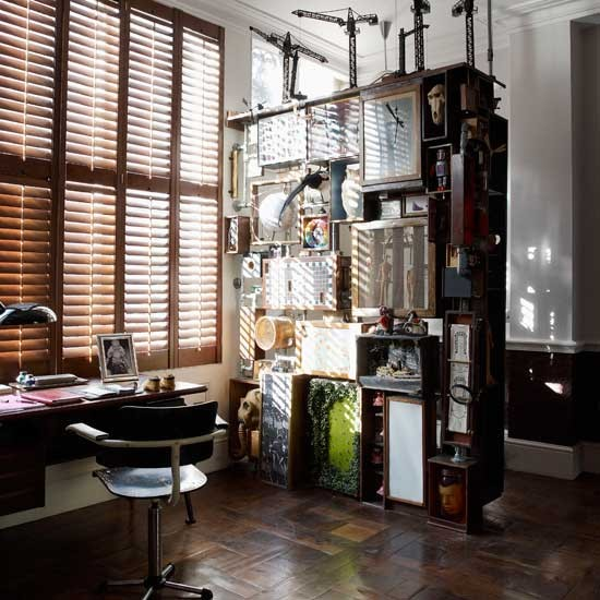 Quirky modern home office | Home office design | Storage | Image | Housetohome.co.uk
