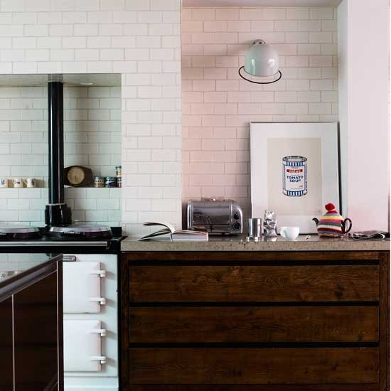 Classic tiled kitchen | Kitchen design ideas | Tiles | Image | Housetohome.co.uk