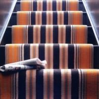 Modern stairs carpet