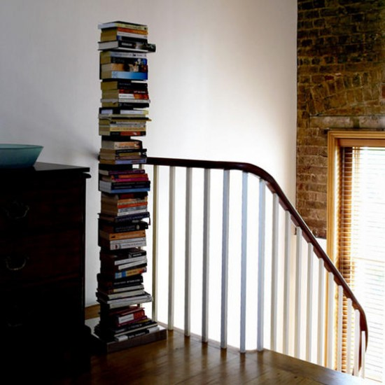 Unusual book storage | Storage unit | Bookcase | Image | Housetohome.co.uk