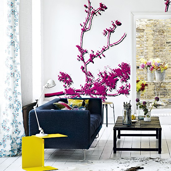 Colourful living room | Living room | Image | Housetohome.co.uk