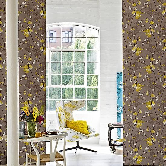 Floral living area   Living room   Image