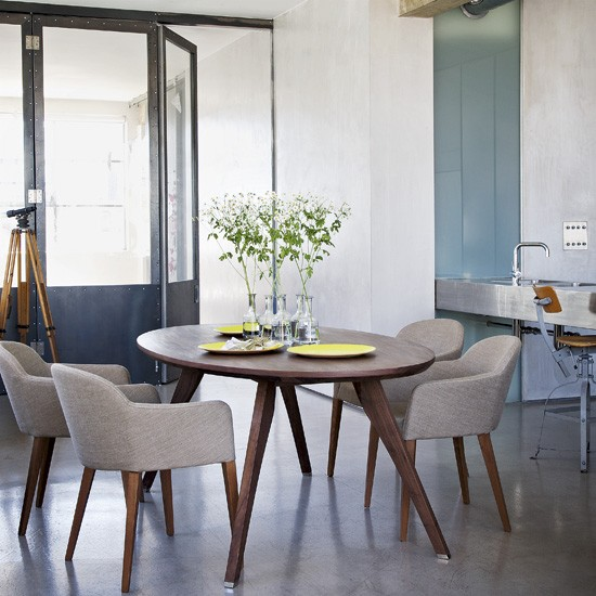 Modern dining room dining room dining table for Dining room designs uk
