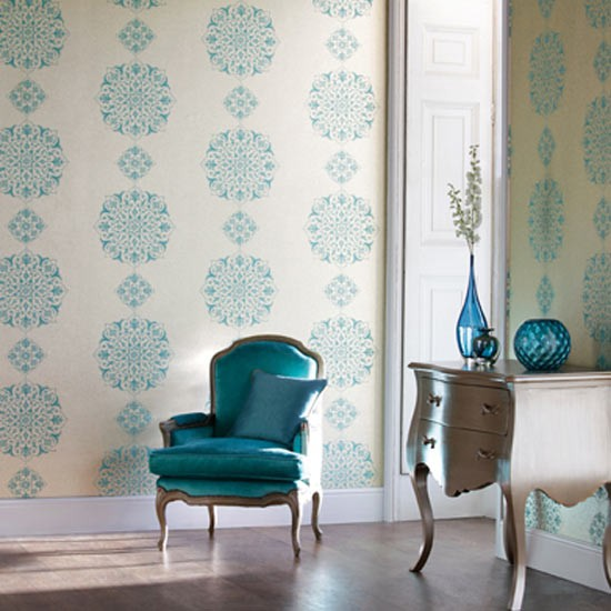 There's a wallpaper to suit every style - from modern to traditional, graphic to pretty florals