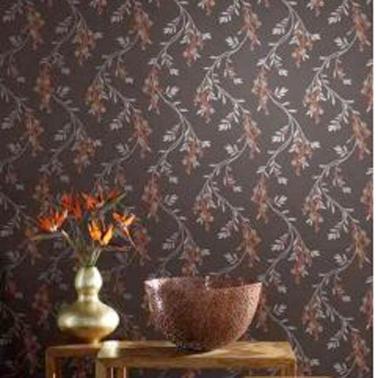 Arthouse vintage wallpaper from b q traditional for Wallpaper traditional home