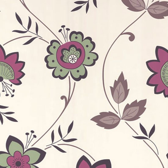 Zoe wallpaper in raspberry by dulux from homebase for Wallpaper homebase green