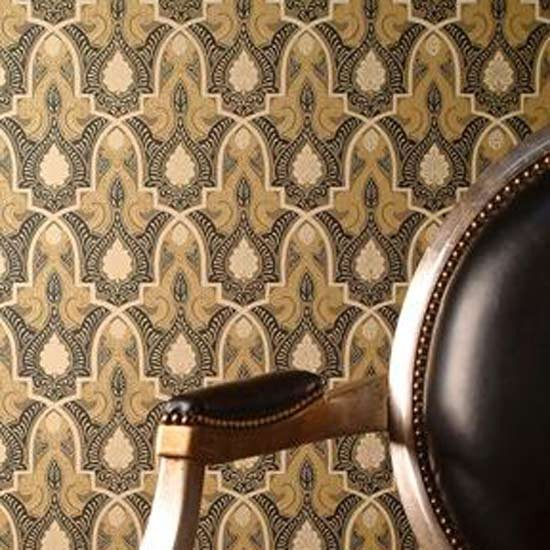 Alhambra wallpaper from zoffany traditional wallpaper for Wallpaper traditional home