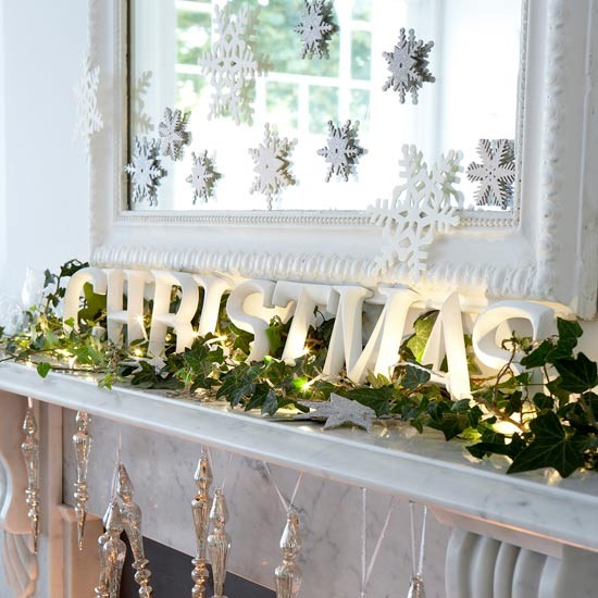 High impact low effort christmas decorating ideas for Home christmas decorations uk