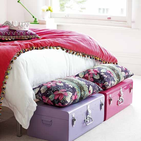 Bedroom storage trunks | Bedroom storage | image | Housetohome