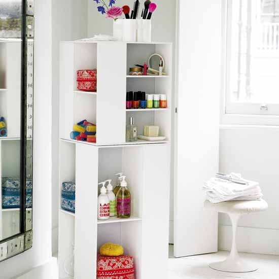 Modern Bathroom Storage Unit Storage Solutions Shelves