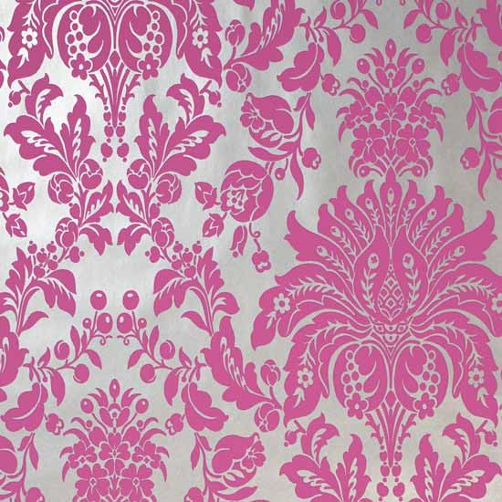 Damask wallpapers | Feature wallpaper | Statement wallpaper | image | Housetohome