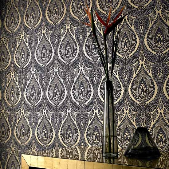 portobello damask wallpaper from graham brown damask