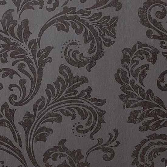 Acanthus black damask wallpaper from next damask for Wallpaper next home
