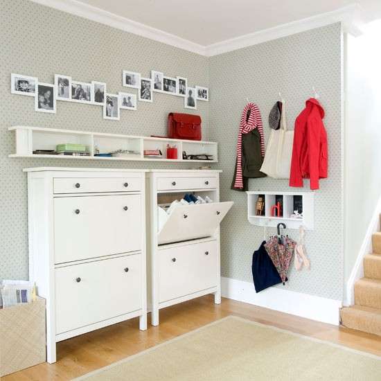 Hallway storage | Hallway | Hallways - 10 of the best | Decorating idea for hallways | PHOTO GALLERY | Housetohome