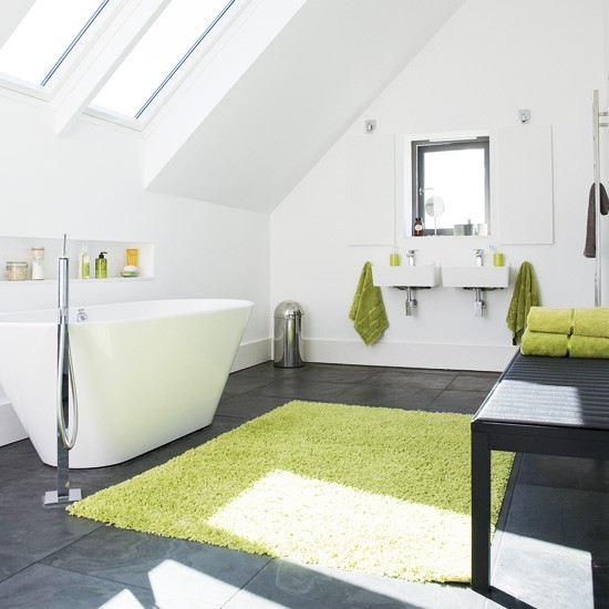 bright modern bathroom attic bathroom ideas bathroom