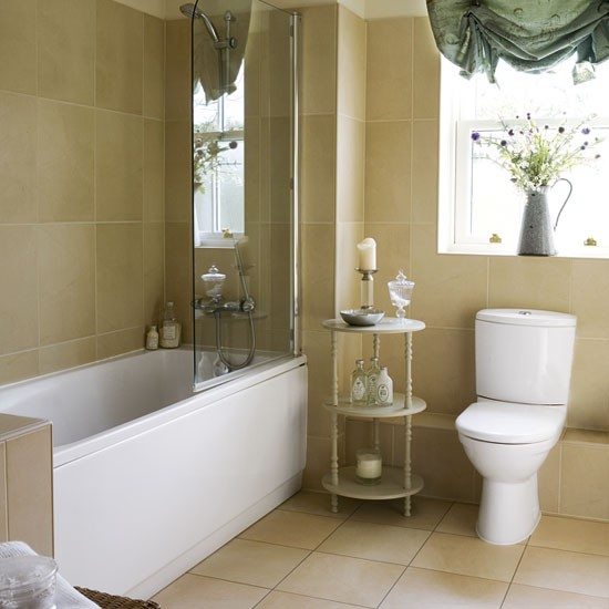 Traditional neutral bathroom traditional bathroom for Ideal home bathroom ideas
