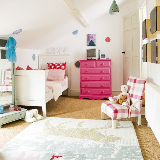 Country-style children's bedroom