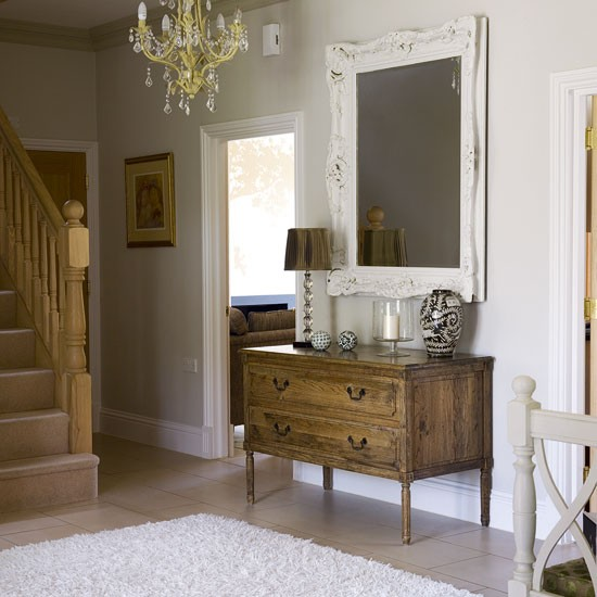 Period-style hallway | Traditional hallway design | Hallway | Image | Housetohome.co.uk