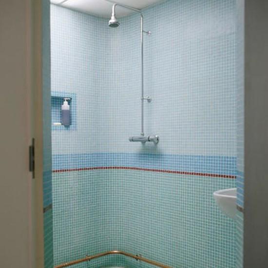 Modern Mosaic Shower Room Bathroom Idea Tiles
