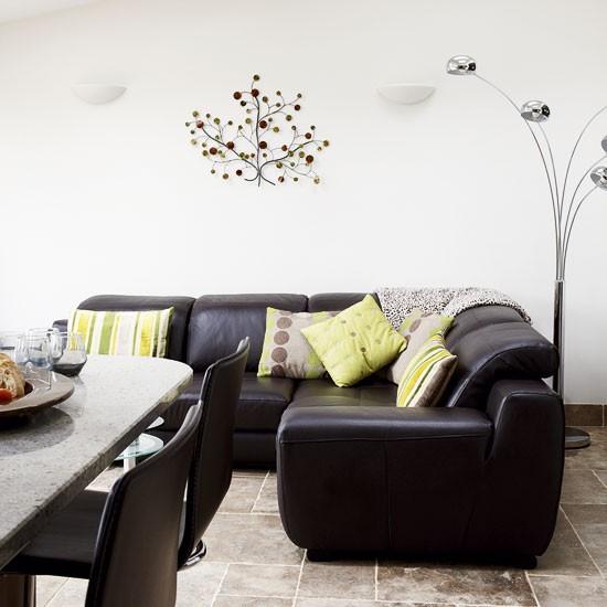 Cool open-plan living room | Open-plan living ideas | Open-plan home | Image | Housetohome.co.uk