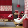 Bold red colour schemes - 10 of the best
