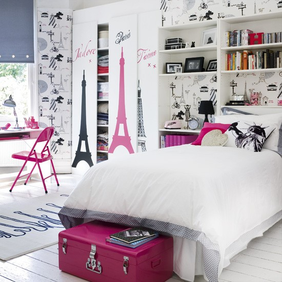 Funky teen bedroom | Teen bedroom ideas | Bedroom | Image | Housetohome.co.uk
