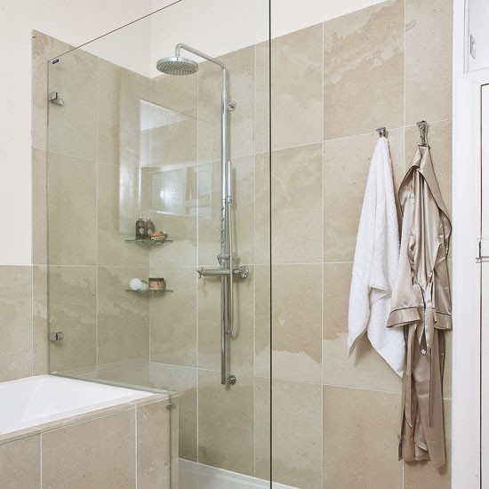 Wet room style shower for Bathroom room ideas