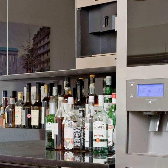 The focal point for most New Year's parties - make sure your bar is well stocked