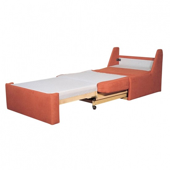 Leste single seater sofabed from uk contemporary furniture chair beds best of 2011 space Single couch bed