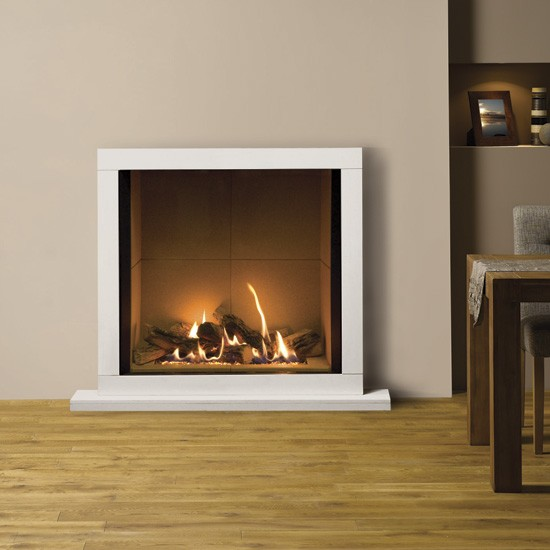 Riva2 800 Gas Fire From Stovax Gazco Gas Fireplaces Heating PHOTO