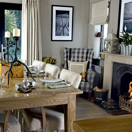 Traditional formal dining room | Dining room designs | Dining furniture | image | Housetohome