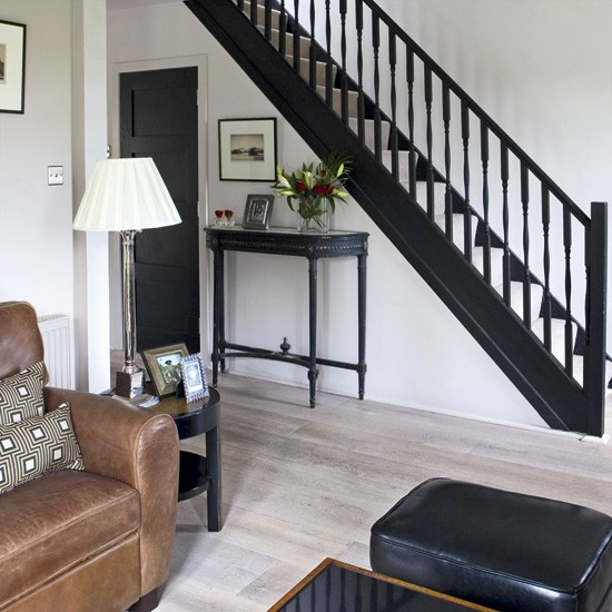 Contemporary living room with chandelier | Living room designs | Sofas | image | Housetohome