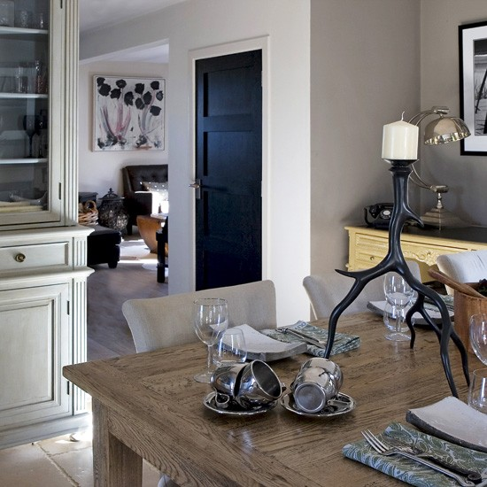 Formal Dining Room With Dresser Unit