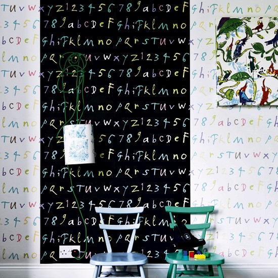 Colourful child's room | Child's rooms | Wallpaper | image | Housetohome
