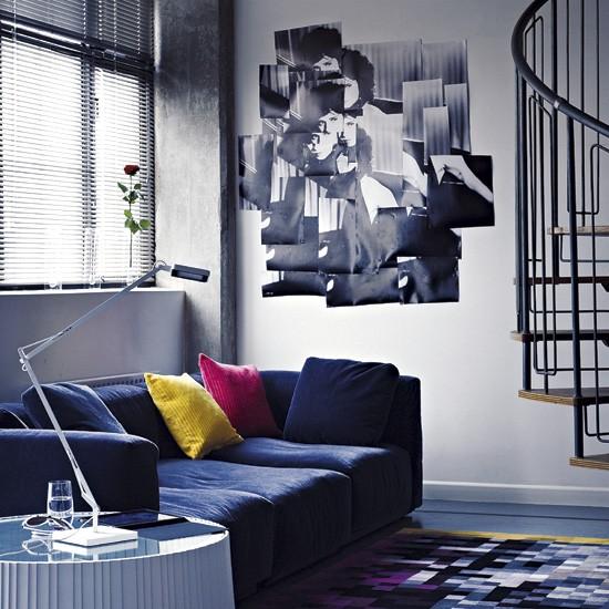 Living room with slouchy sofa | Living rooms | Sofas | image | Housetohome