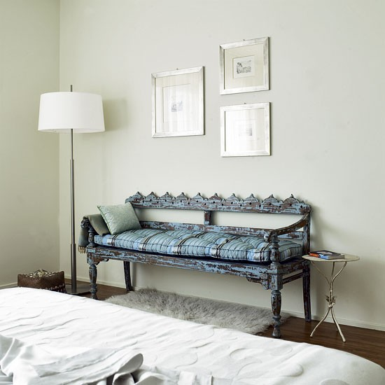 Bedroom With Decorative Bench