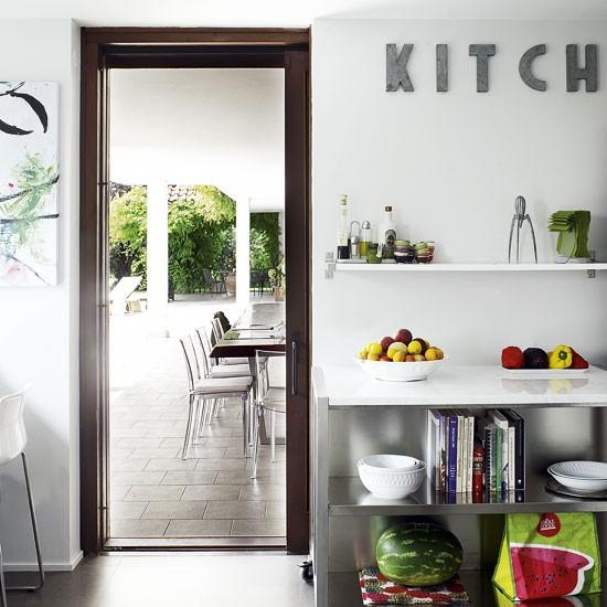 Modern white kitchen   Kitchen designs   Kitchen storage   image   Housetohome