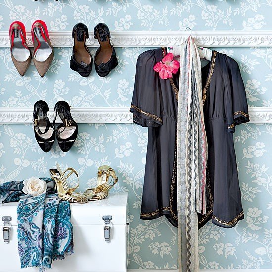 Elegant bedroom shoe storage | Bedroom designs | Shoe storage | image | Housetohome