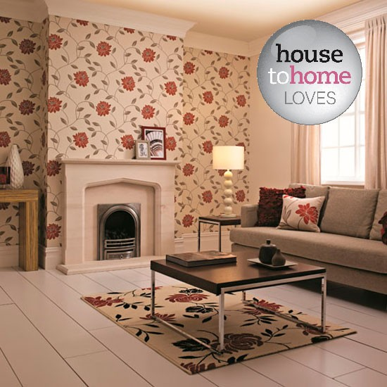 looking for wallpaper ideas to update your home for winter then look