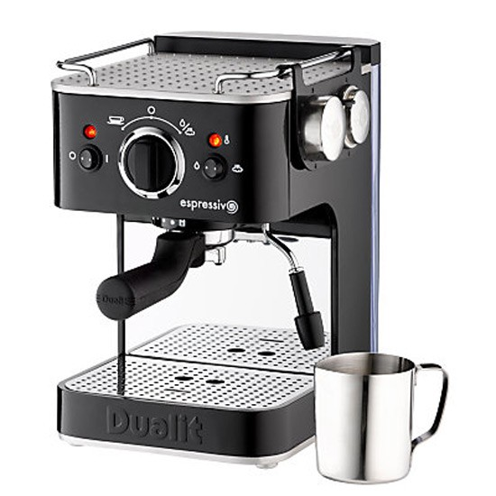 dualit espresso machine