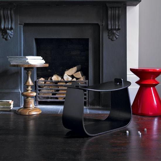 Bold modern living room | Living room decorating ideas | Stools | Image | Housetohome
