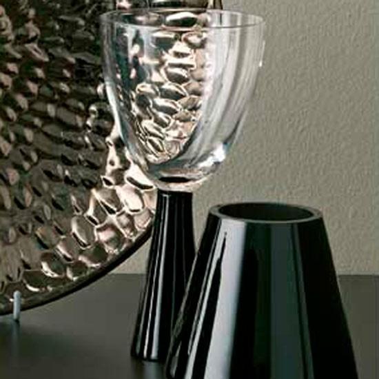 Black Stem Wine Glass From Homebase Wine Glasses 10 Of