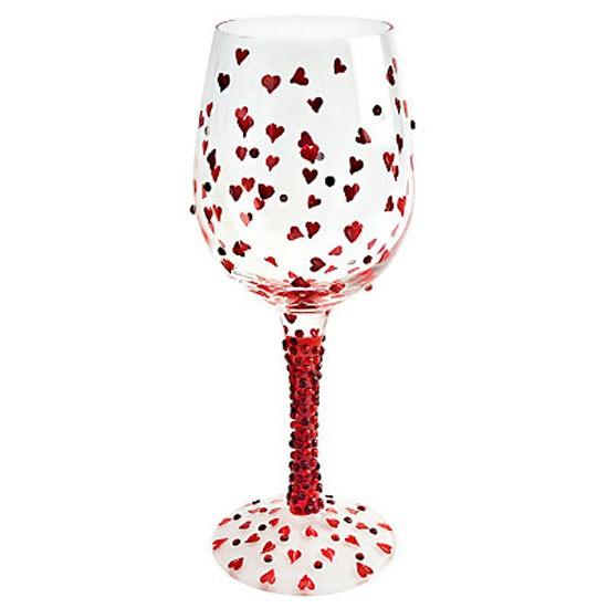 lolita red hot wine glass from john lewis wine glasses. Black Bedroom Furniture Sets. Home Design Ideas
