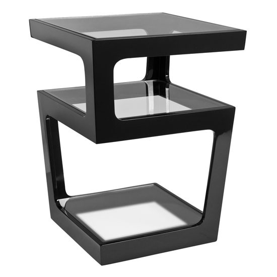 triple level side table black from dwell side tables photo gallery